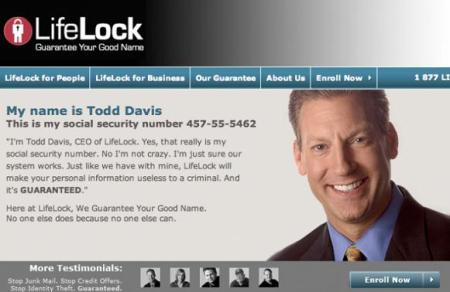 lifelock ad